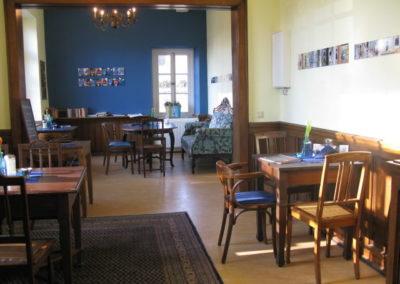 Blaues Café