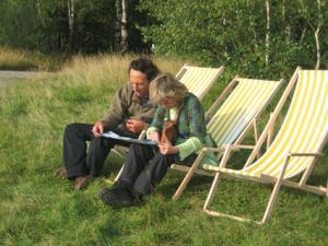 Picknickwiese und Ausruhoase